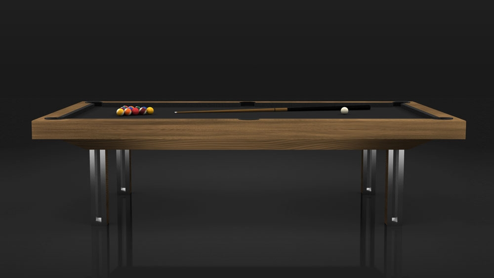 Executive Billiards Table in Teak