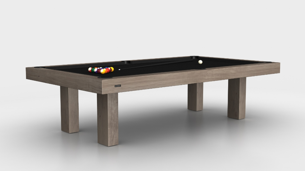Malibu Billiards Table in Rift White Oak