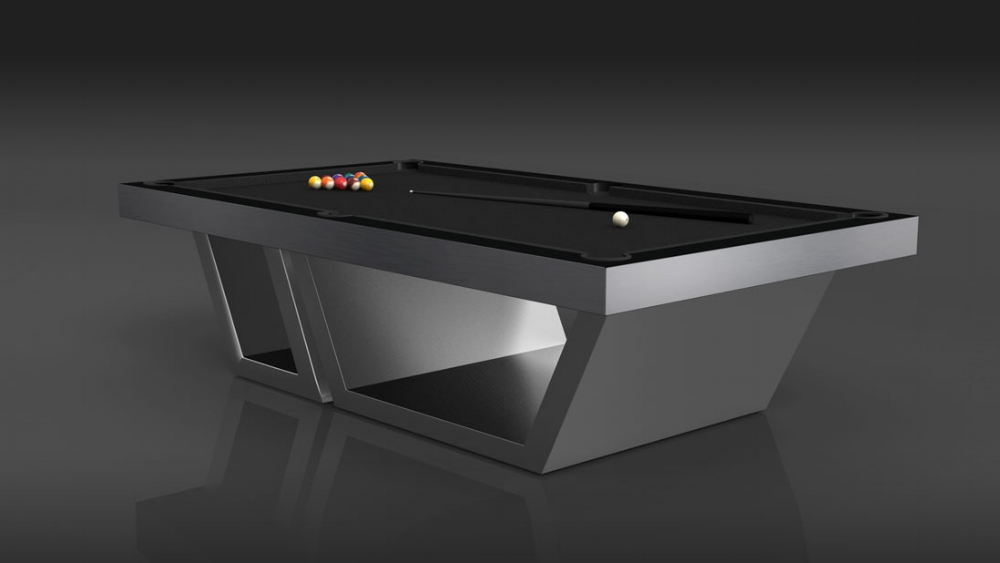 Titan Billiards Luxury Modern Pool Tables The Most Exquisite - Aluminum pool table