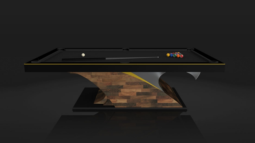 Poseidon Billiards Luxury Modern Pool Tables The Most Exquisite - Lucite pool table