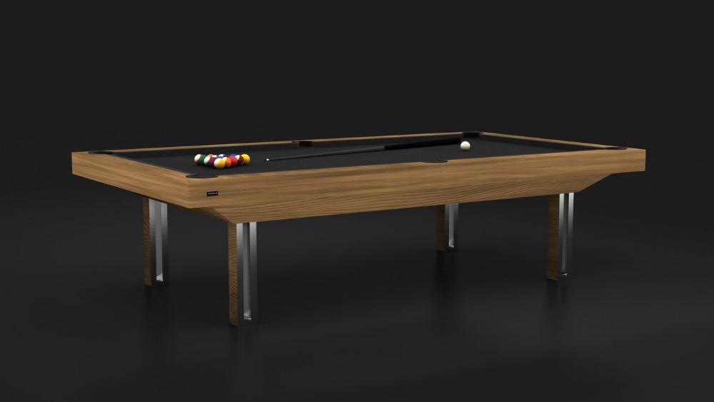Executive Teak Billiards Table