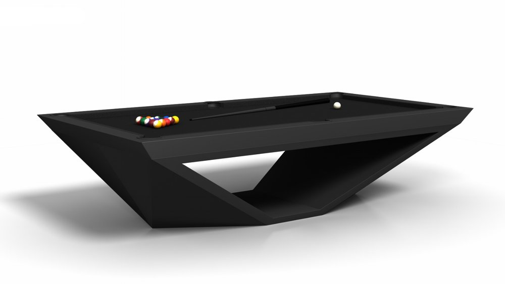 Stealth Billiards Table in Black