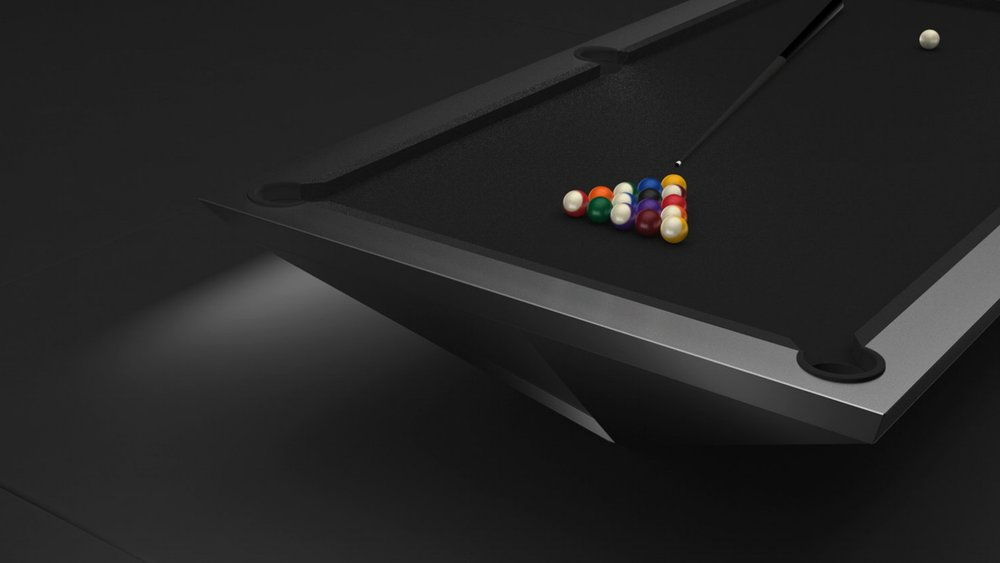 Stealth Billiards Table