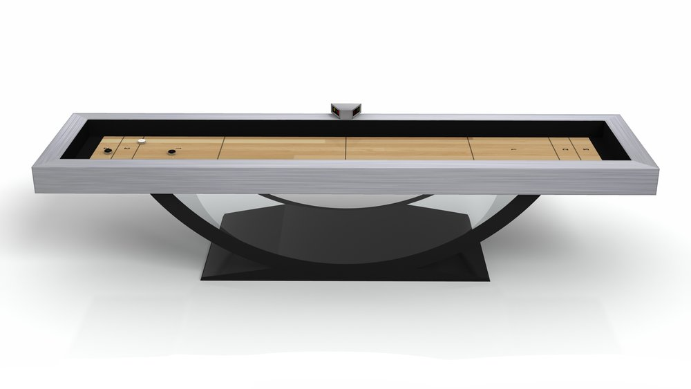 Theseus Shuffleboard Luxury Modern Pool Tables The Most - Lucite pool table