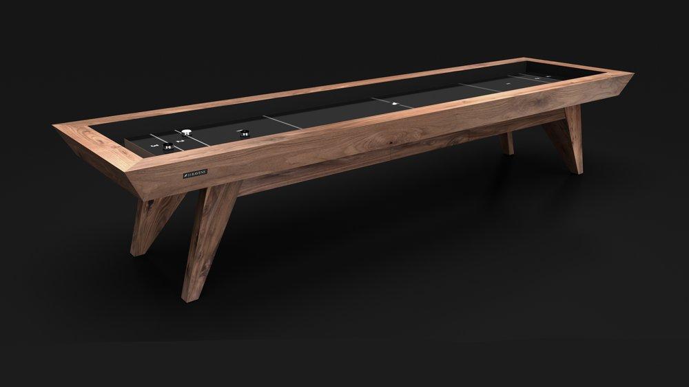 Trigon Shuffleboard in Walnut