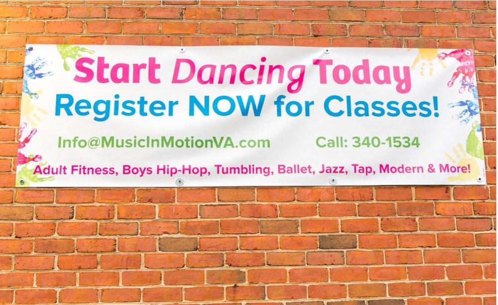 Start Dancing Today Sign.JPG