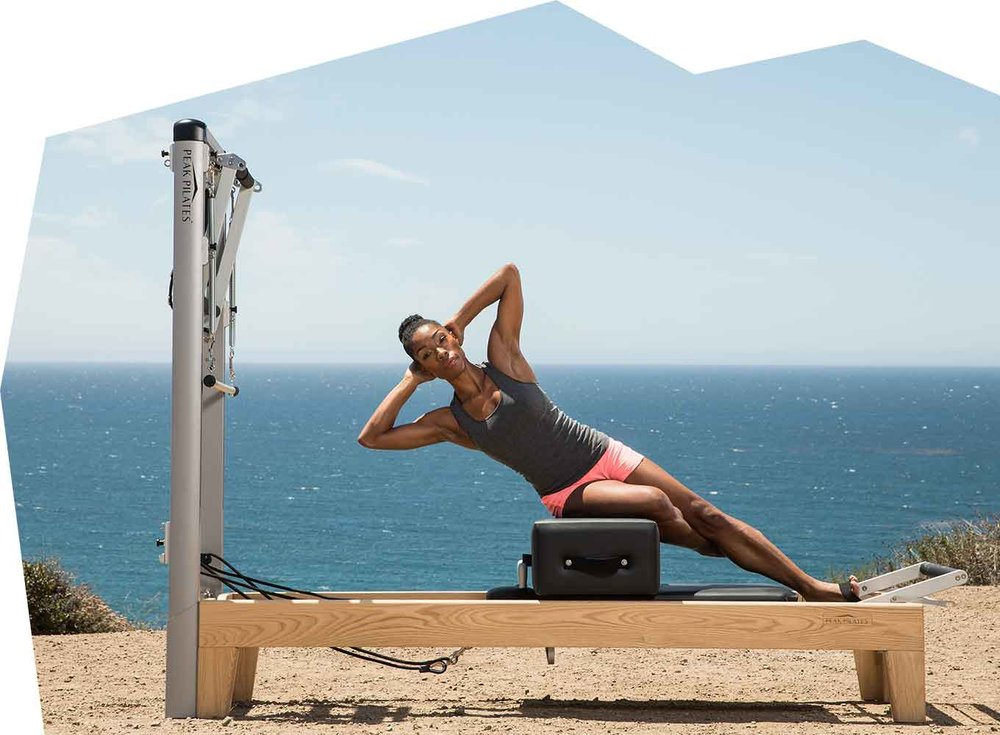 Options: Pilates Image of Lauren Movement  --- Bloom Image from Packet ----- Slider Image with Private Pilates New Client Special