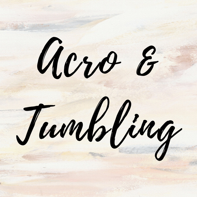 Acro & Tumbling Ages 6 & Up