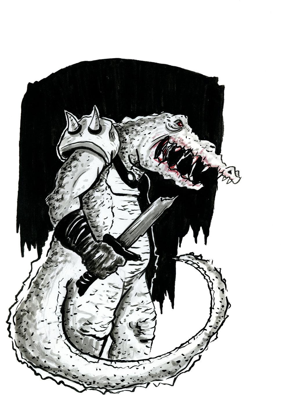 Croc Soldier