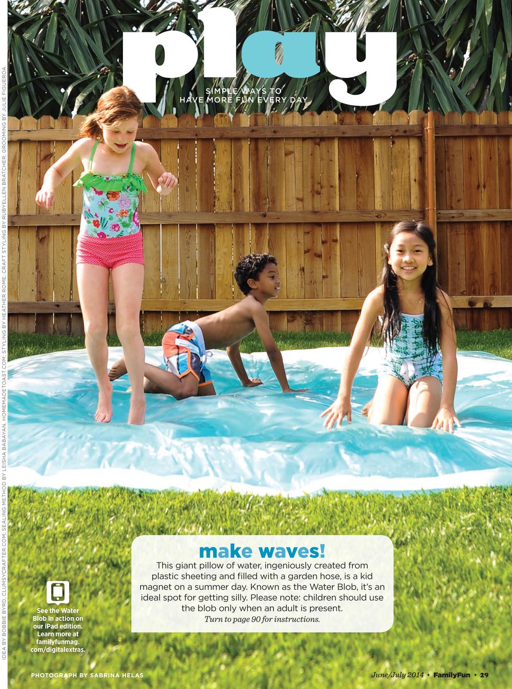 FAMILY FUN MAGAZINE JUNE/JULY 2014