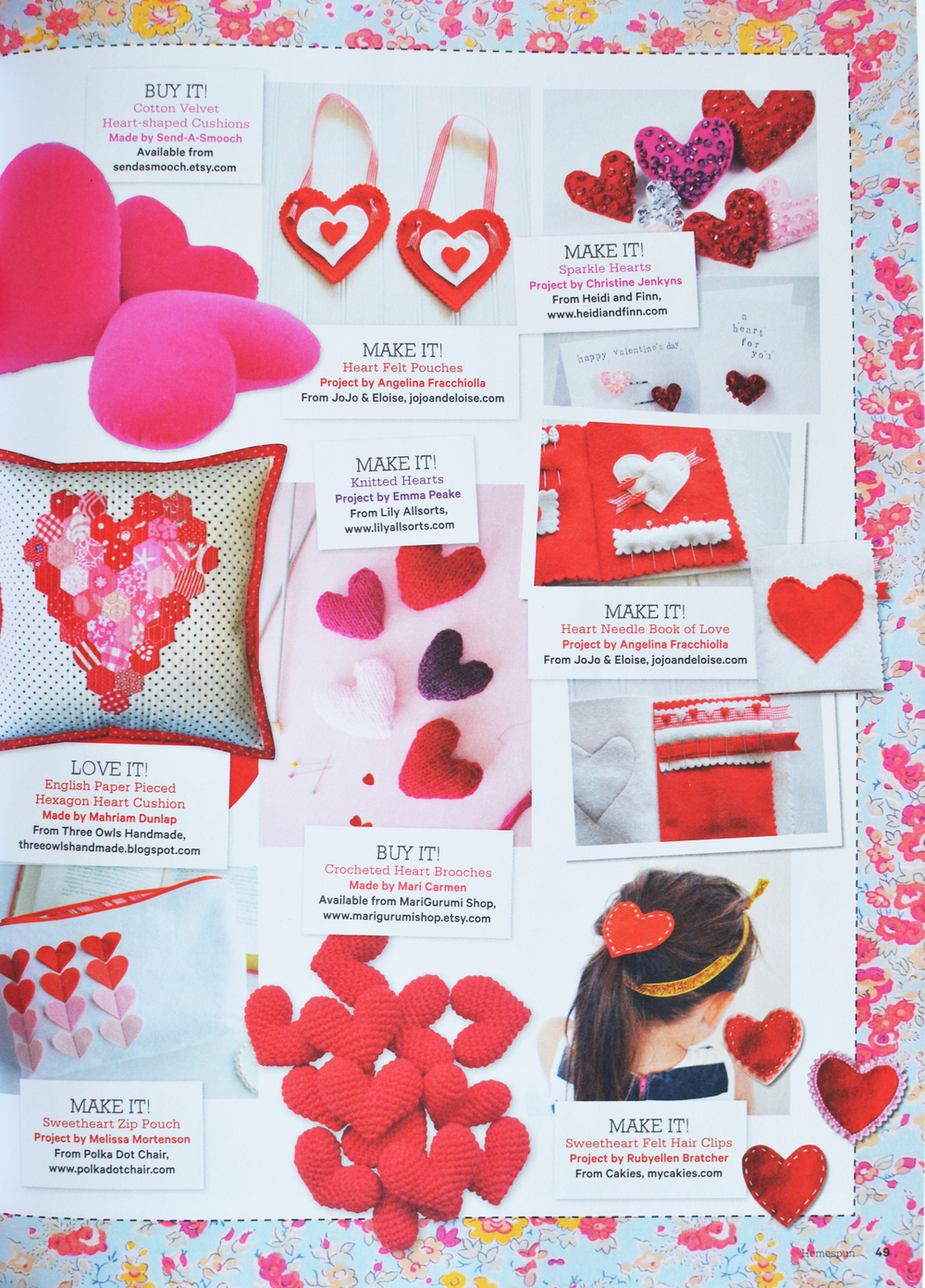 HOMESPUN MAGAZINE FEBRUARY 2016