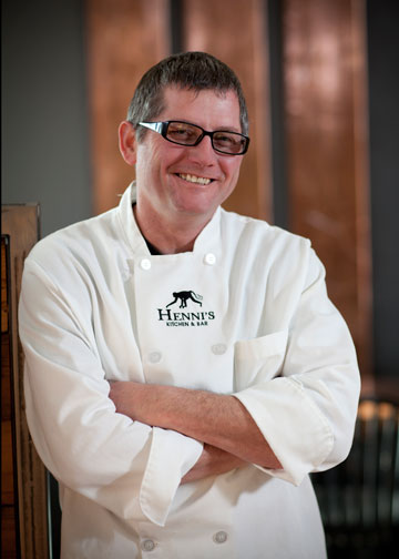 Chef Owner Christiaan Erasmus