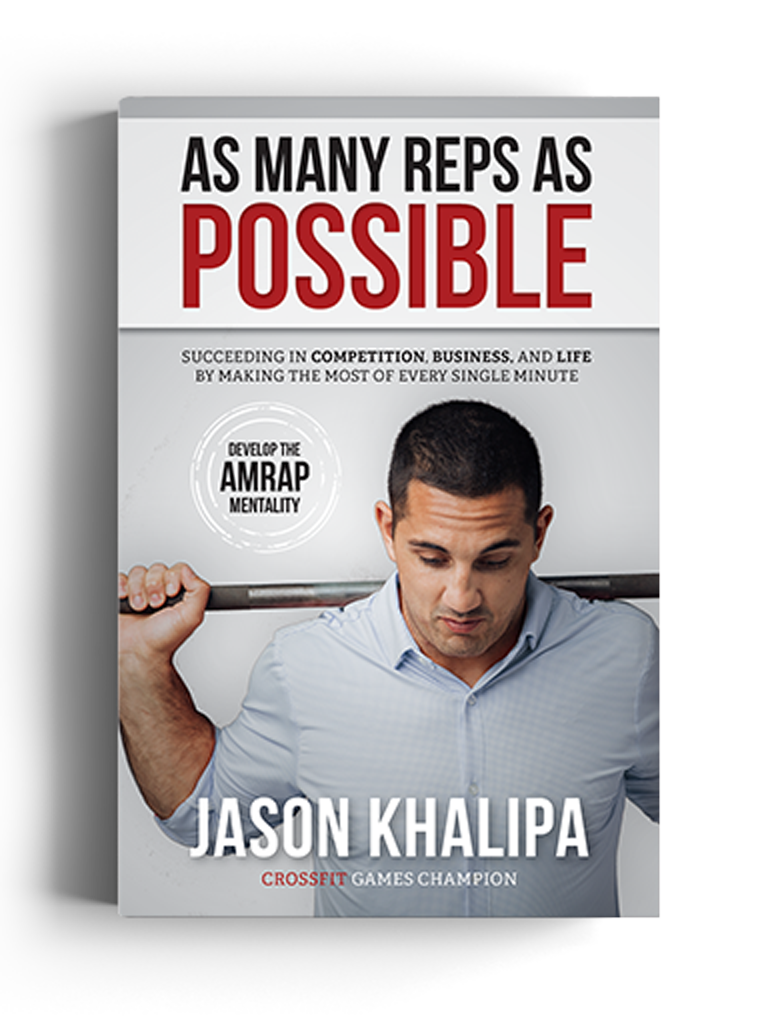 MAKE THE MOST OF EVERY MINUTE. - Jason has developed a proven system that will teach you to discover your why, focus on what you can control, work hard—and ultimately, achieve your goals.