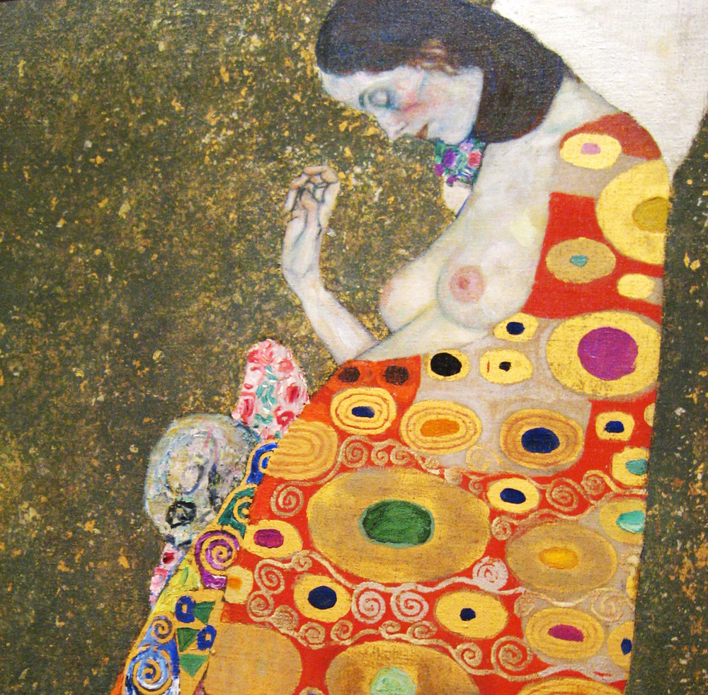 NYC - MoMA: Gustav Klimt's Hope, II