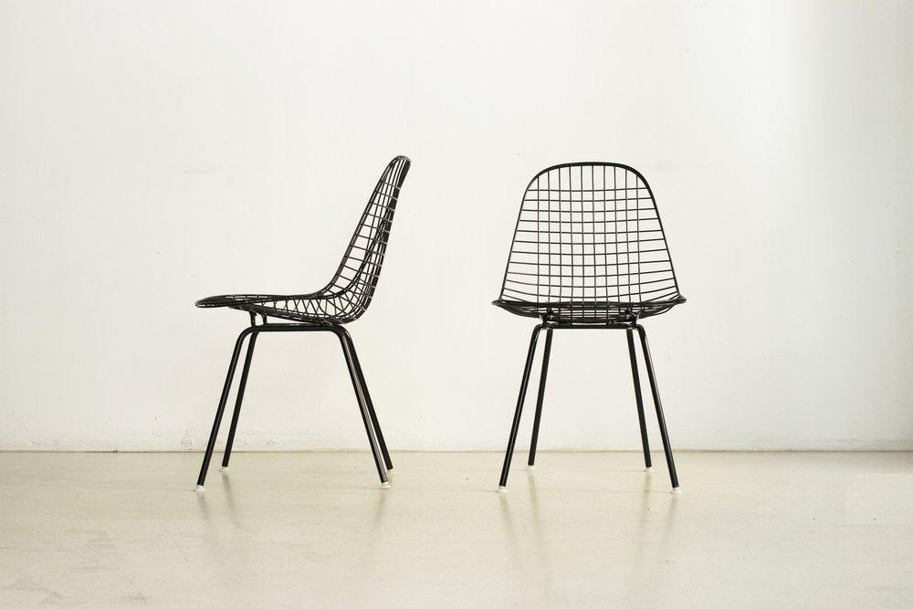 Charles & Ray Eames |Chaises DKX
