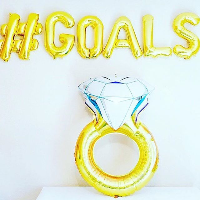Jumbo ring balloons are re-stocked! AND they're 30% off! Use code SUNNYDAYS at checkout. Shop 👉skylinesquared.com 💍💍