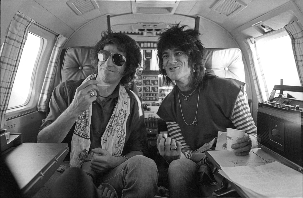 1979 Keith Richards and Ron Wood