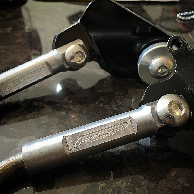 It has come to our attention that a few non innovators have failed to make there own kickstands and have used their small minds to go ahead and copy our design using old methods and cheap hardware to try and replicate . To insure authenticity we will now be milling our FLP logo to all cvt and standard kickstands !  Please feel free to share and tag :)