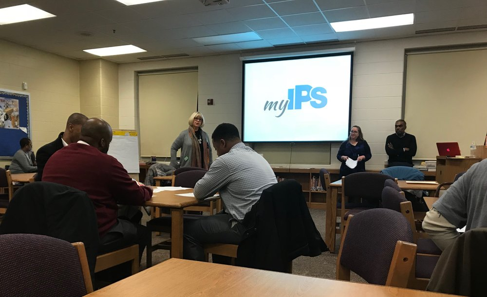Innovation Partner Presentation at Wendell Phillips School #63 on January 4, 2018
