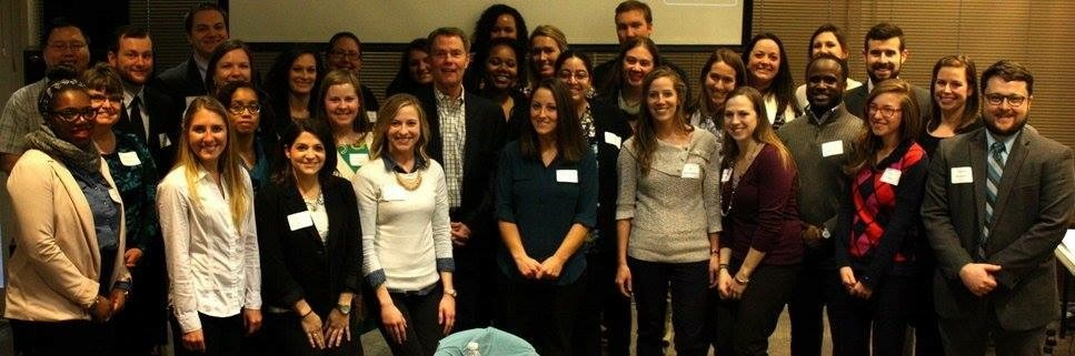 2016-2017 Teach Plus Policy Fellowship Cohort pictured with Indianapolis Mayor Joe Hogsett