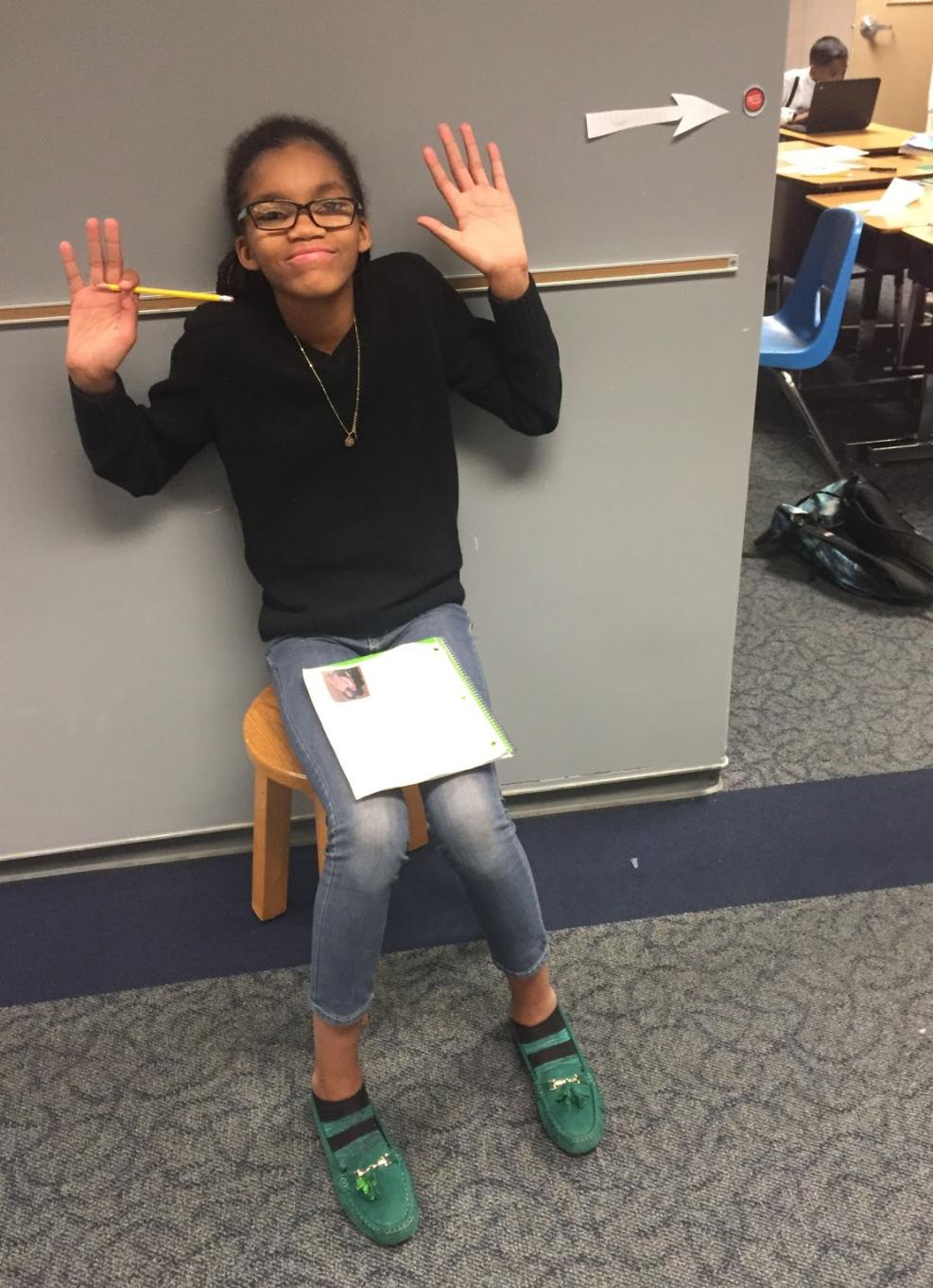Raven, 4th Grade Student