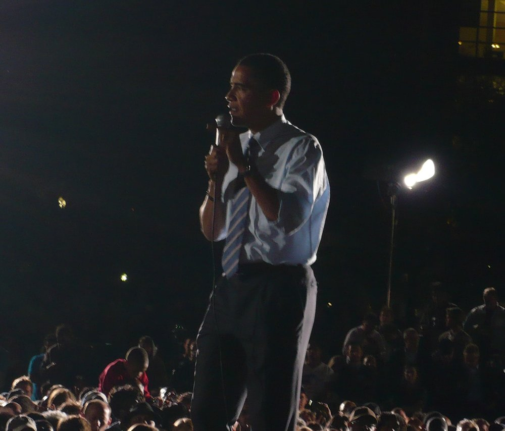 Barack Obama, May 5, 2008 in Indianapolis