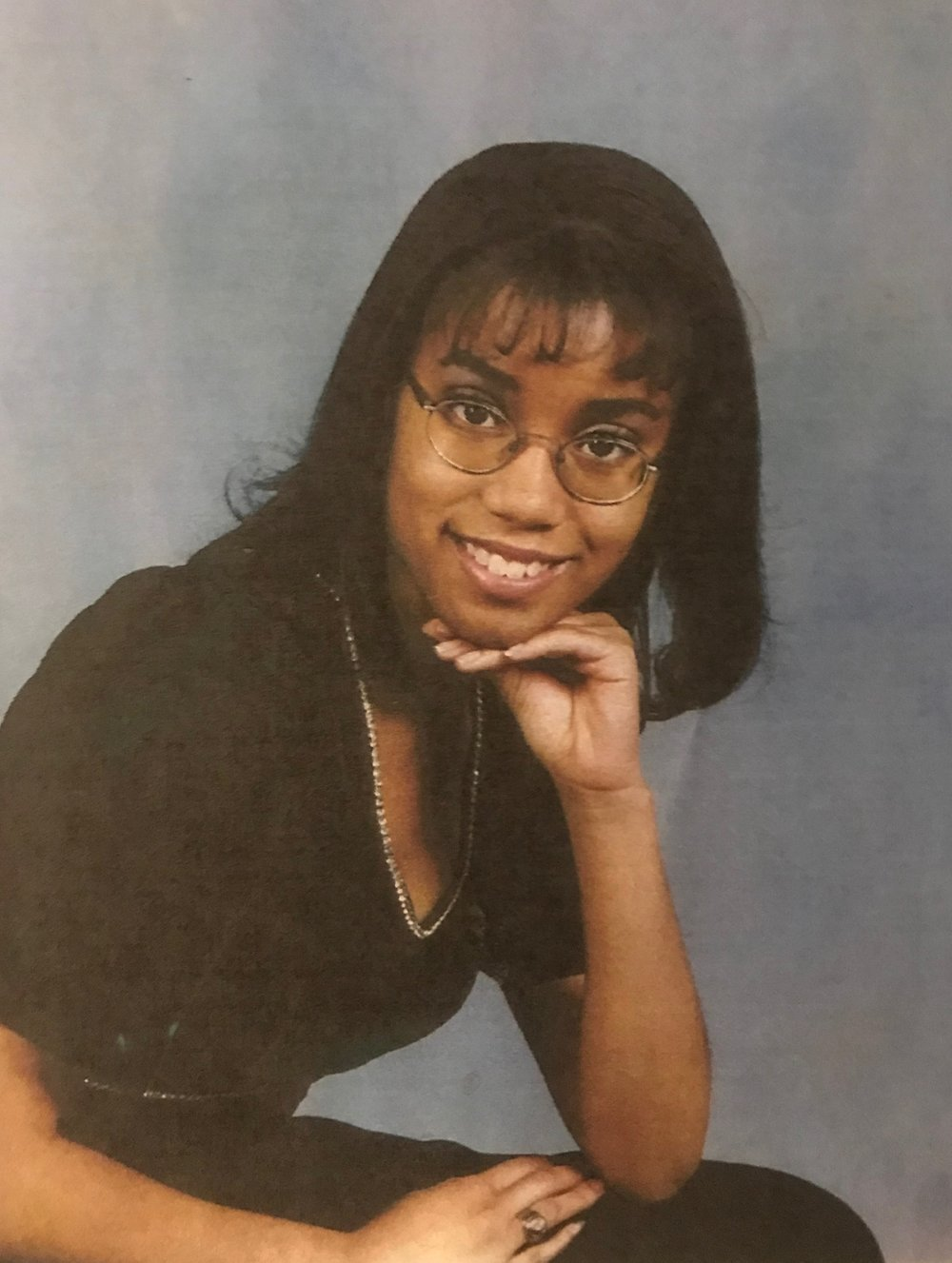 Shawnta S. Barnes, senior choir picture