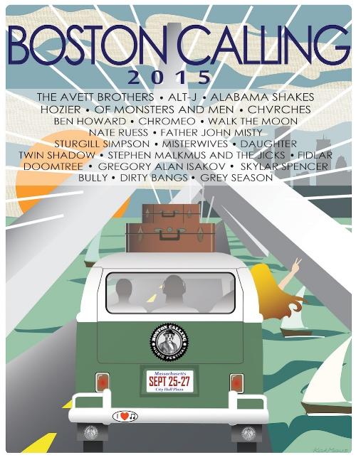 Boston Calling Music Festival Poster