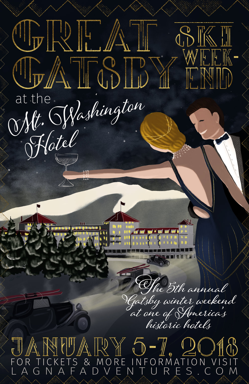 Great Gatsby Event Poster