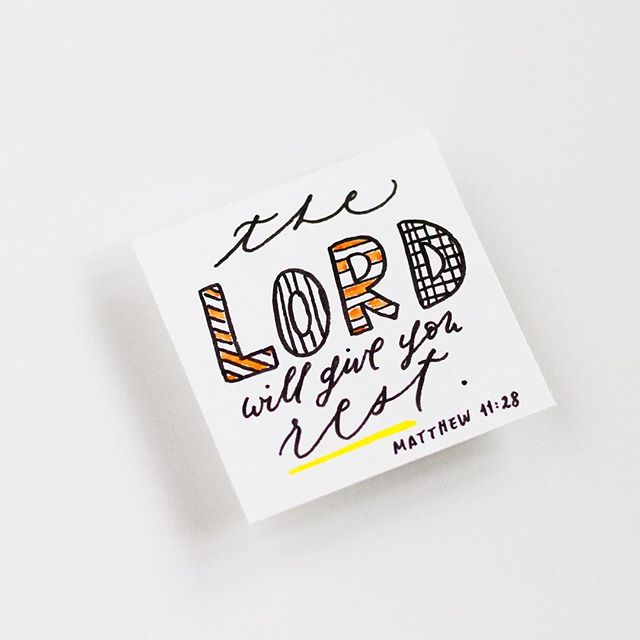 "🖤 ""Come to me, all who labor and are heavy laden, and I will give you rest."" - Matthew 11:28 