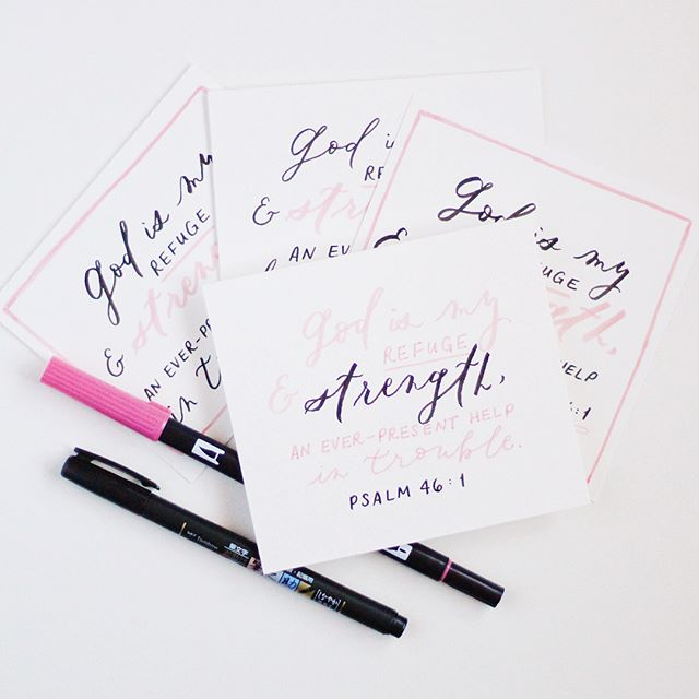 #GIVEAWAY: I teamed up with a church sister and #calligrafriend, @jessicaysitu, for a giveaway! We're giving away some pretty amazing things - Glossier goodies, our favorite lettering tools, and hand-lettered bible verses! Head on over to @courtneyxu (my main account) and @jessicaysitu to find out how to enter! 🙂🖤 #giveaways #calligraphy #calligraphygiveaway #tombow #glossier #glossiergiveaway