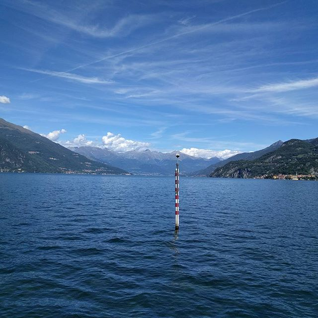 Lake Como, classic U-shaped glacial valley #science