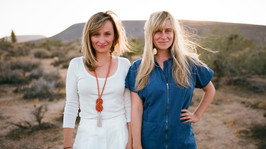 lily et hopie stockman, creatrices et fondatrices de block shop textiles