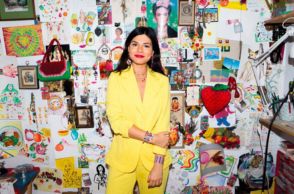 Susan Alexandra - La créatrice la plus colorée de New York !