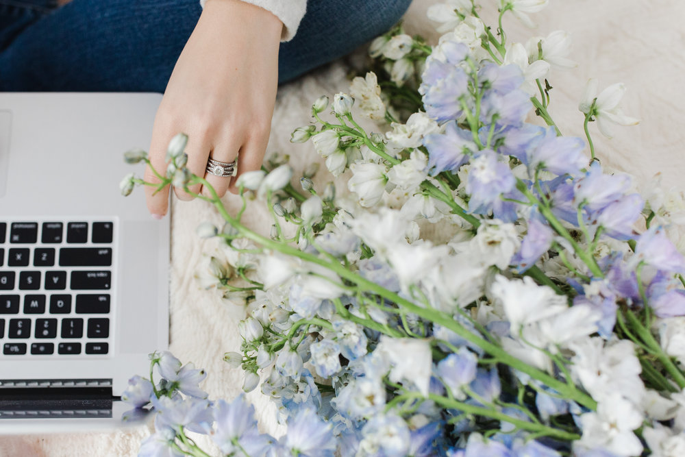 Light and airy brand shoot featuring beautiful engagement ring in minneapolis