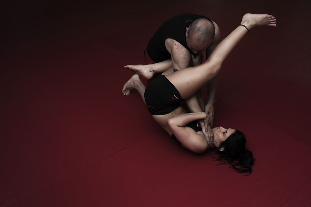 Grappling MMA Training