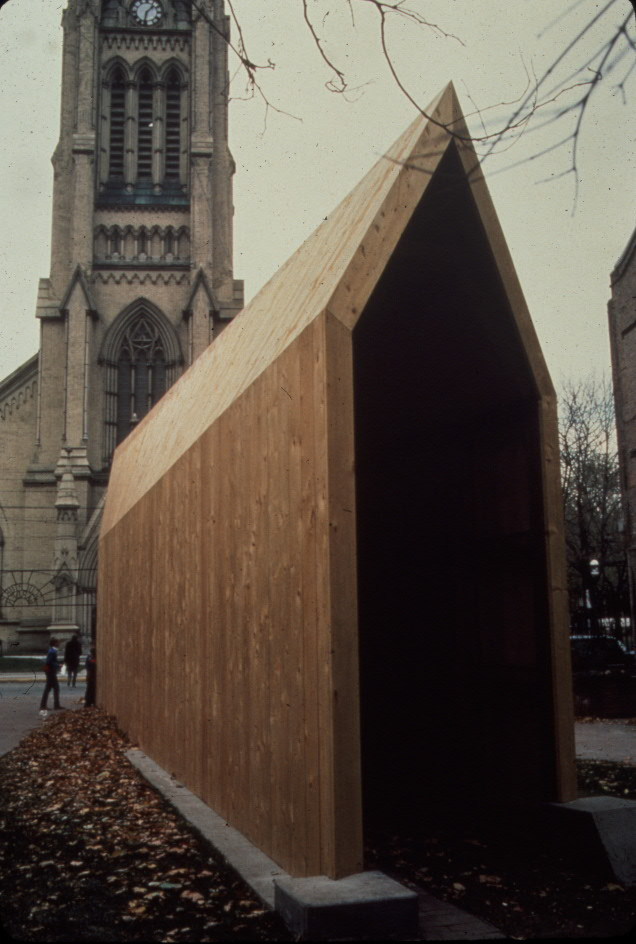 Andreas Gehr, The Found Foundation, 1985. Photo by W.N. Greer