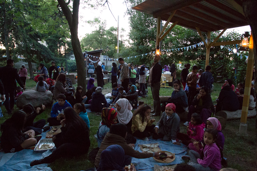 Iftar Night celebration, Mabelle Park. Photo: Liam Coo