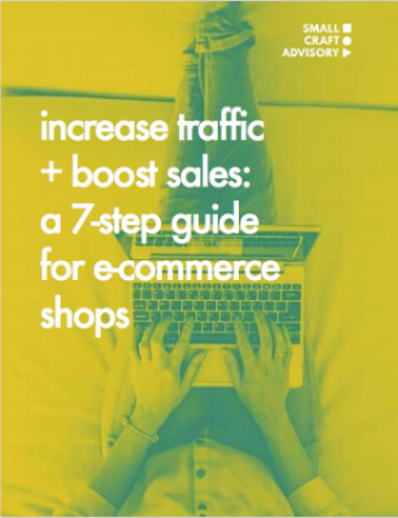 Increase Traffic & Boost Sales: A 7-Step Guide for E-Commerce Shops