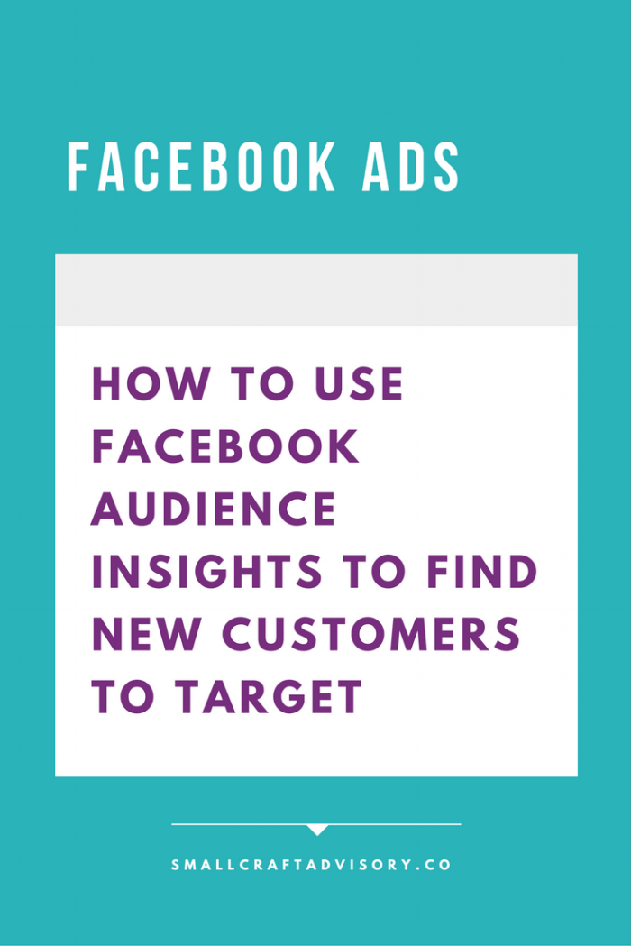 How to Use Facebook Audience Insights to Find New Customers to Target