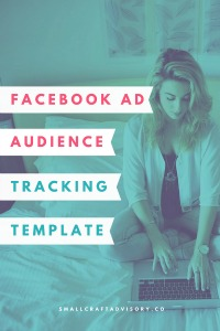 Facebook Ad Audience Tracking Template