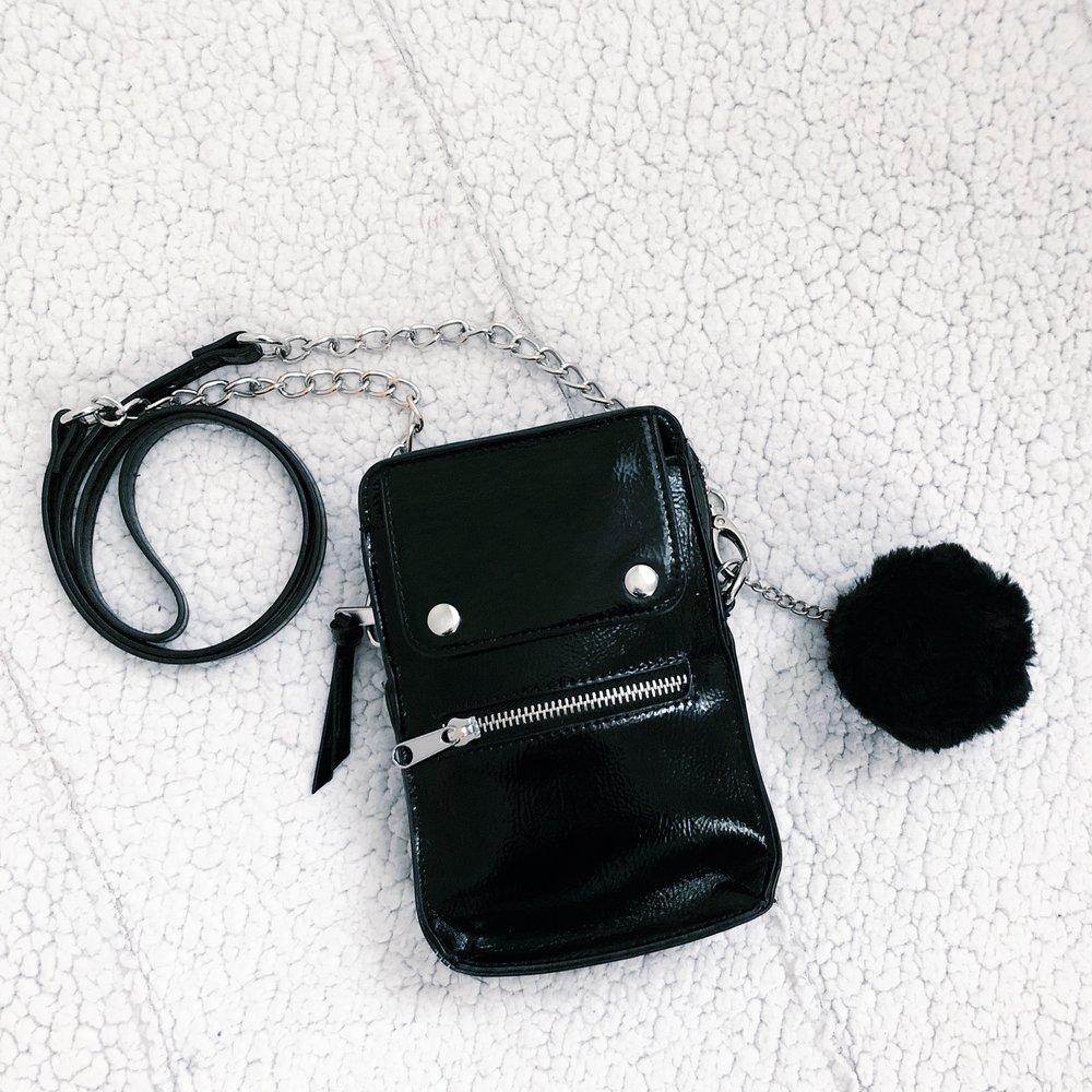 steve madden 'madden girl' crosshoulder bag