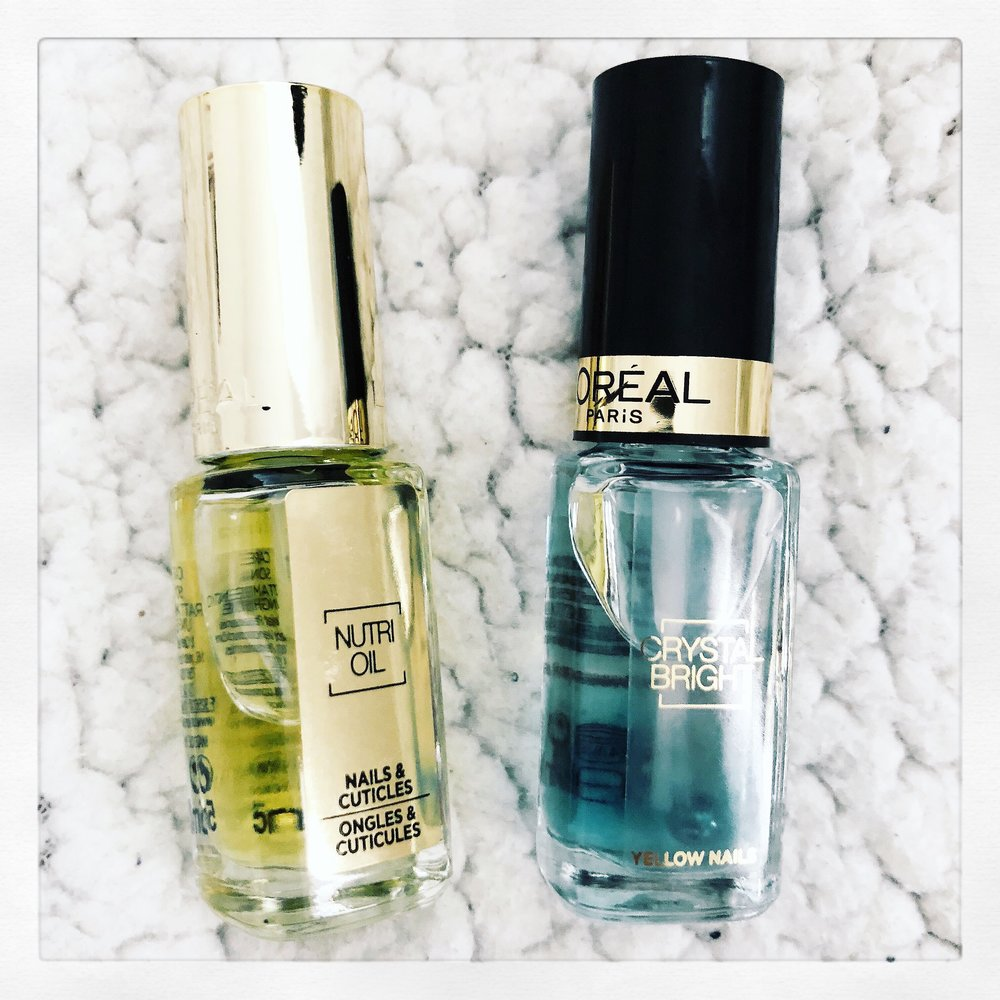 L'Oreal LA Manicure Nutri Oil For Nails & Cuticles | L'Oreal LA Manicure Nail Polish Crystal Bright