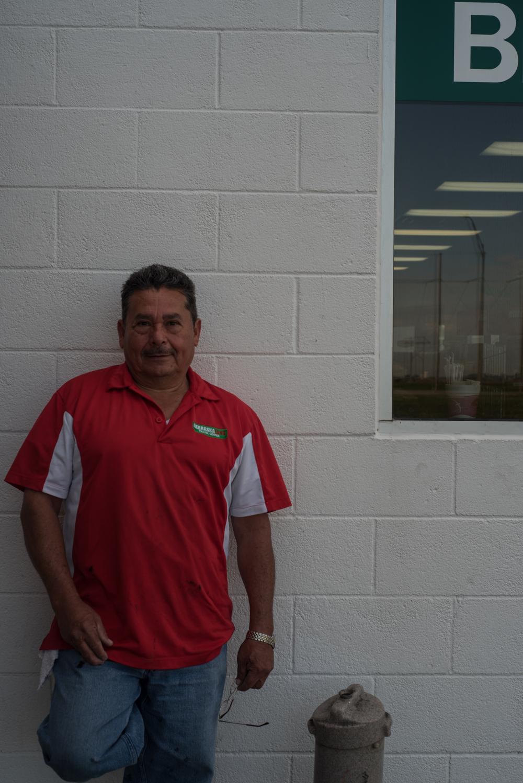 This gentleman was kind enough to let me take his photo in between his work duties in Lexington, Nebraska.