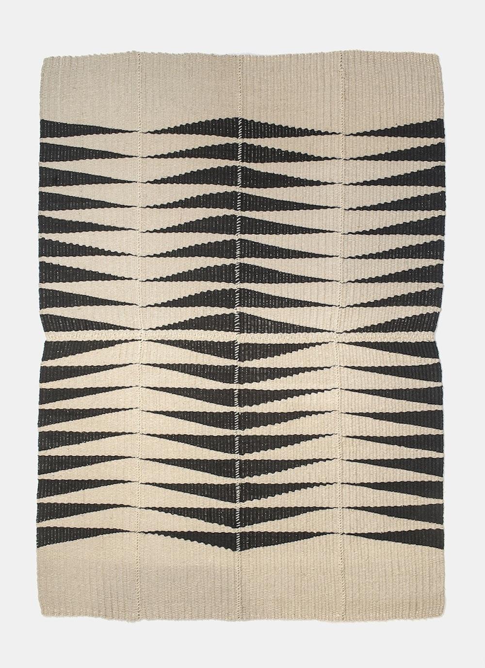 "84"" x 60"" / 100% hemp rug / 2017 / SOLD"