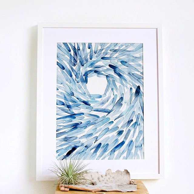 A little piece of the ocean added to my shop.  I spent last weekend camping on the Sunshine Coast. Everyone complains about the ferries here but I always love going on the sundeck wishing for whales (I've seen them twice and it's magical!). 💙🐋🌊
