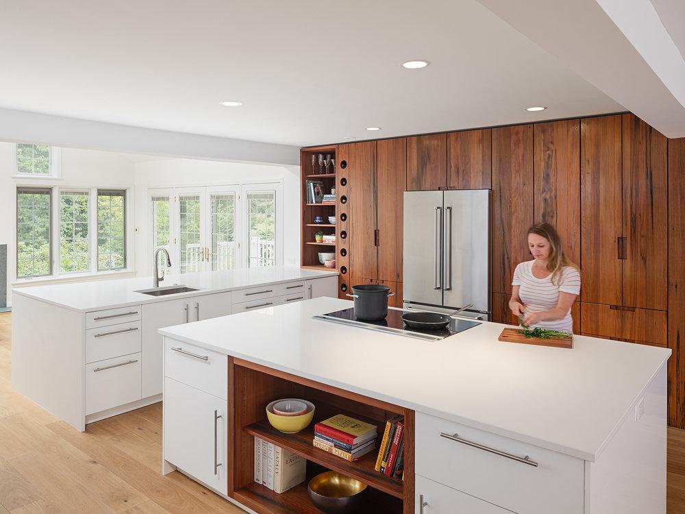 Kole Made Redwood Kitchen 2