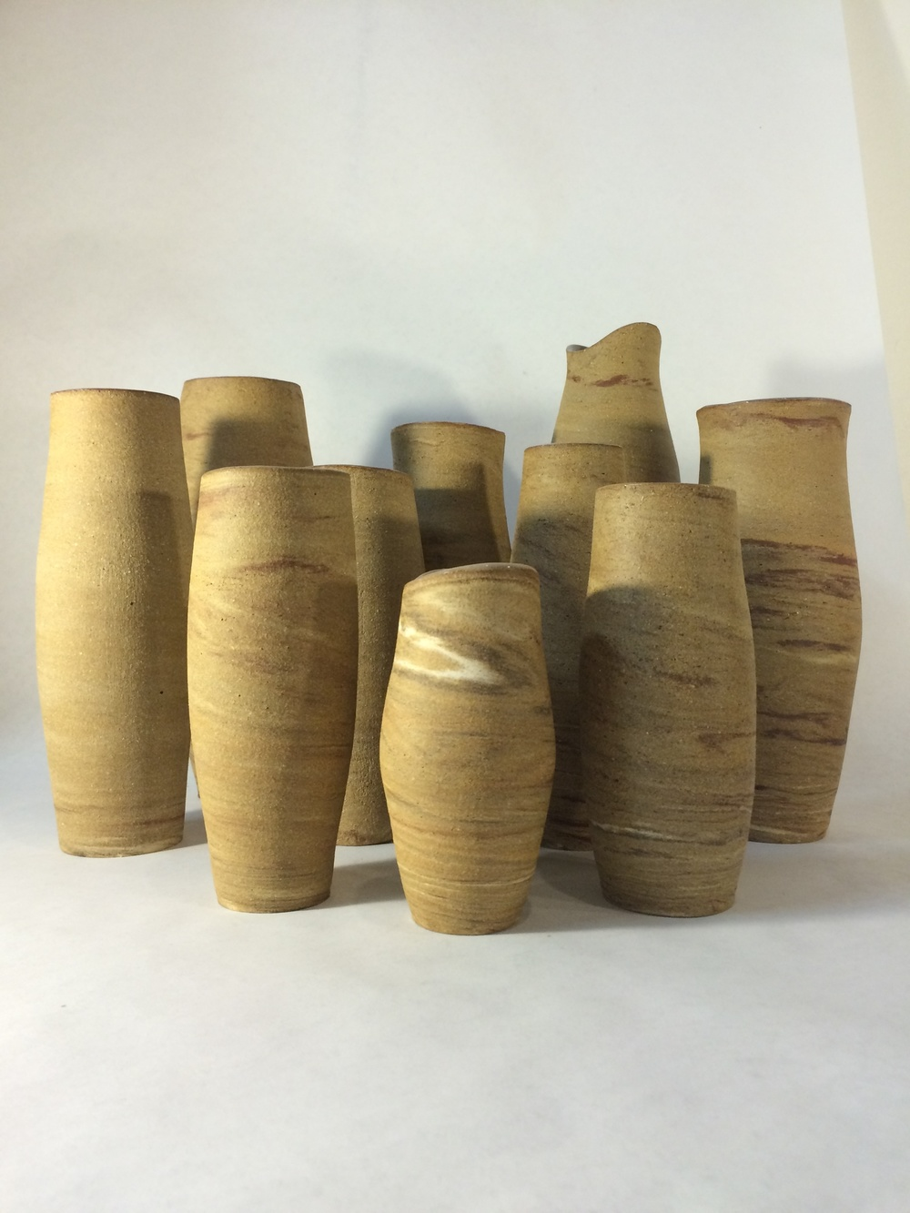 """Jupiter"" Assorted Vases, 2015"