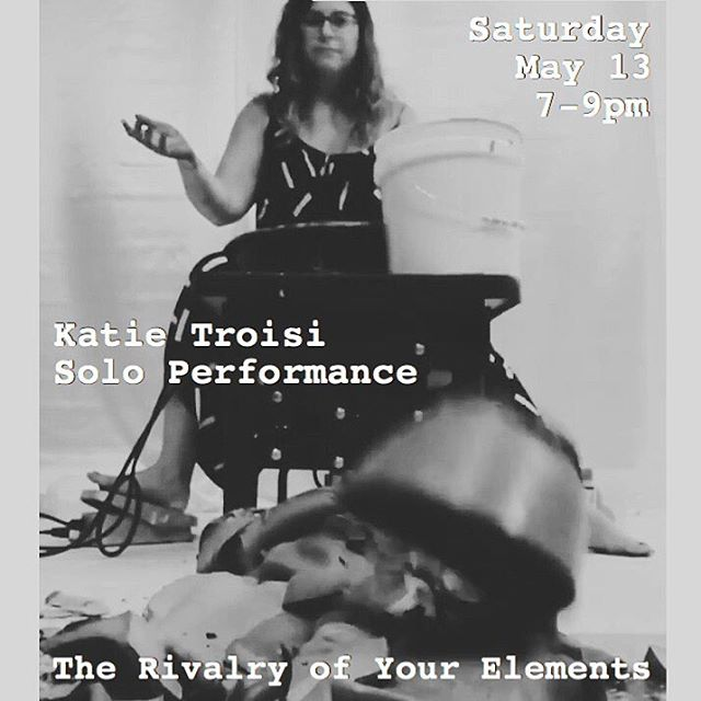 Tonight! #hambidgehivecs #atlanta #atl #atlantaartist #katietroisi #therivalryofyourelements #weloveatl #performance #artsatl