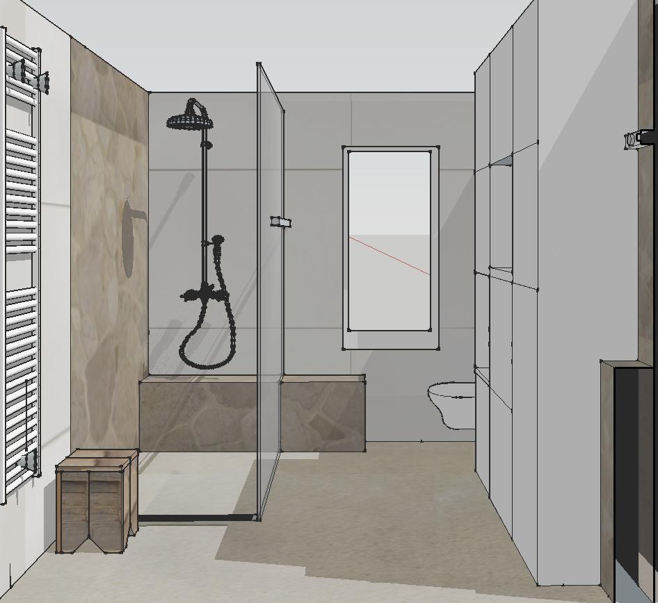 Badkamer ontwerp voor familie in Meppel 2016